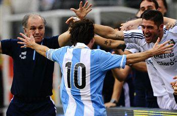 Sabella: Argentina captaincy has helped Messi