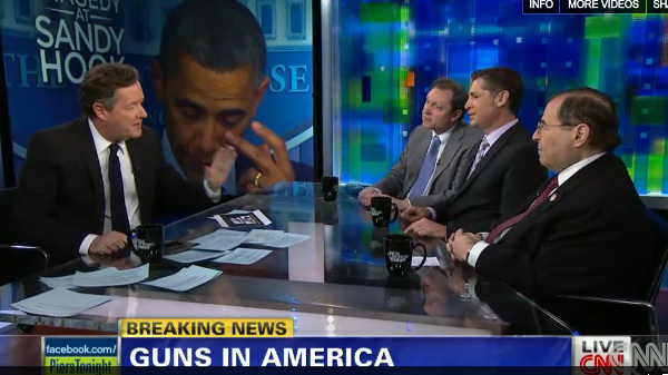 Newtown School Shootings: Piers Morgan Takes Down Gun Lobbyists on Gun Control (Video)