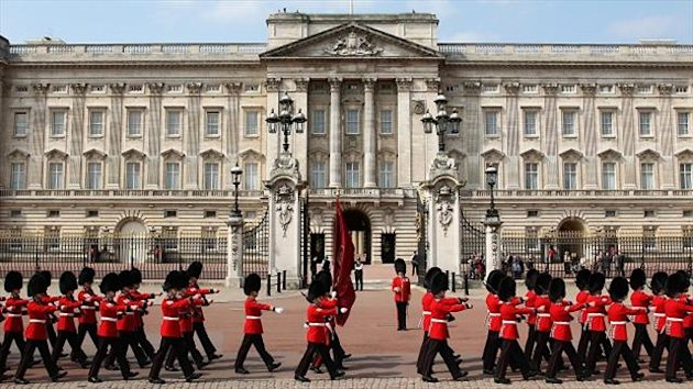 Menzie Yere attended a reception at Buckingham Palace