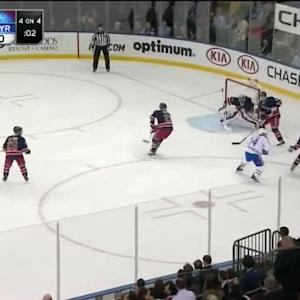 Henrik Lundqvist Save on Tomas Plekanec (17:12/1st)