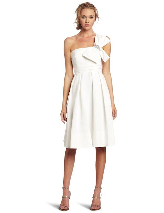 Eliza J One Shoulder Party Dress, $188