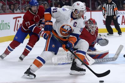 NHL Sunday: Habs double up on Islanders in second period 2-1