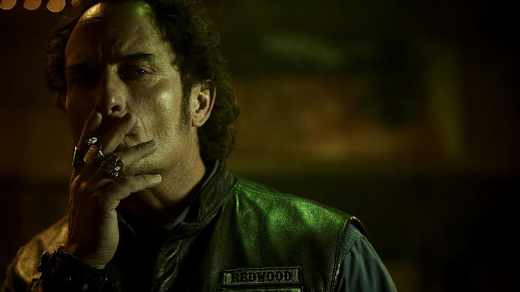 "Kim Coates as Alex ""Tig"" Trager in ""Sons Of Anarchy."""