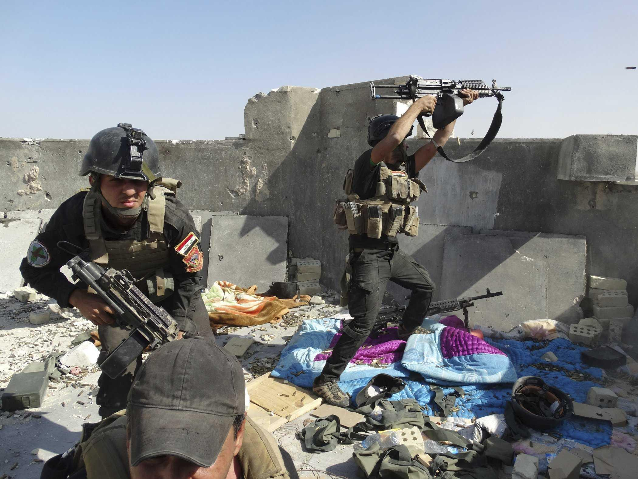 Iraq's incompetent military is in even worse shape than it appears