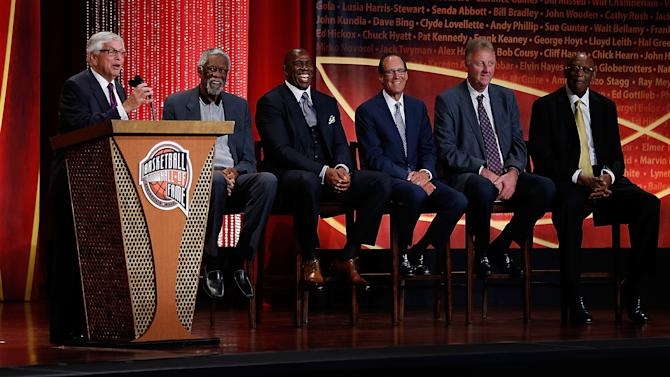 2014 Basketball Hall of Fame Enshrinement Ceremony