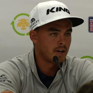 Rickie Fowler comments on winning before Waste Management