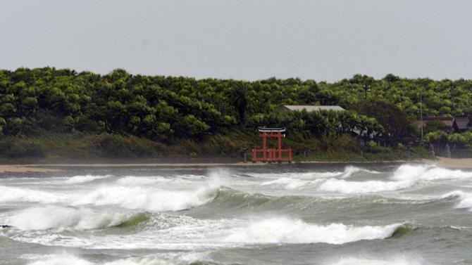 Public address systems in Japan have broadcast warnings to stay away from the sea as around a dozen waves hit to the Asian nation, triggered by a powerful earthquake in Chile
