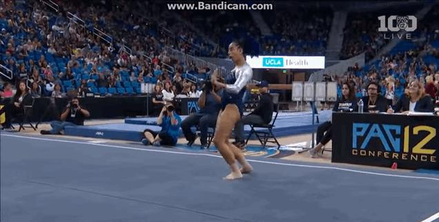Lit Gymnast Hits the Quan, Dab and Whip in Likely Greatest Floor Routine of All Time