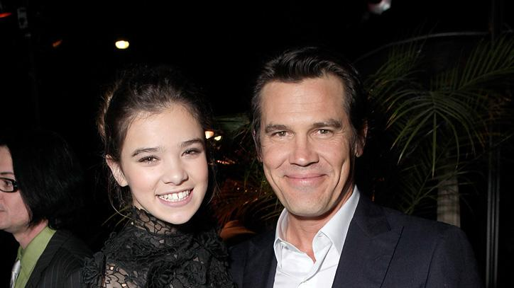 True Grit 2010 LA Screening Hailee Steinfeld Josh Brolin