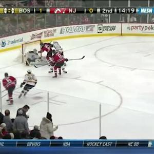 Niklas Svedberg Save on Andy Greene (05:43/2nd)