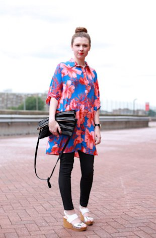 The Hawaiian Shirt (Dress!) Graduate Fashion Week
