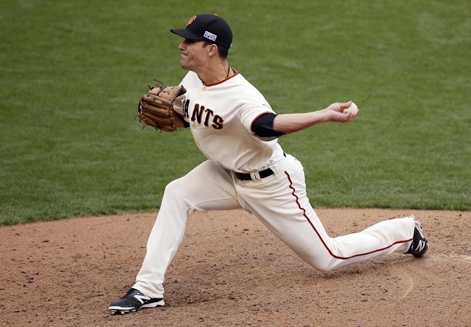 Giants rely on core of 4 relievers