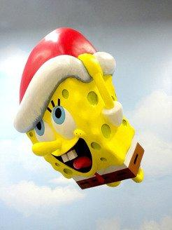 SpongeBob SquarePants Balloon Gets Holiday Makeover For 87th Annual Macy's Thanksgiving Day Parade®