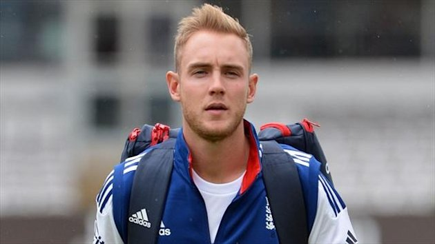 Stuart Broad will take his men to the West Indies next year