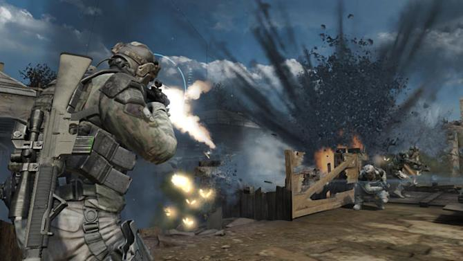 """This video game image released by Ubisoft shows a scene from """"Tom Clancy's Ghost Recon: Future Soldier."""" (AP Photo/Ubisoft)"""