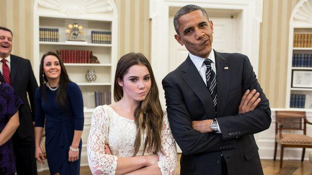 The President Is Unimpressed