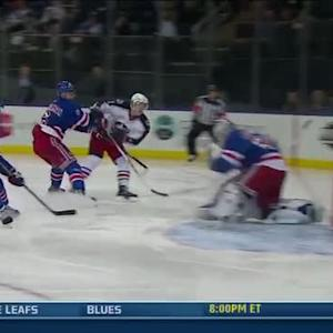 Matt Calvert roofs one on Henrik Lundqvist