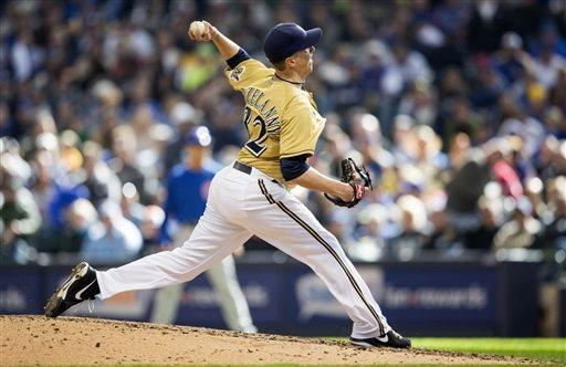Braun hits 3-run homer in Brewers 7th win in a row