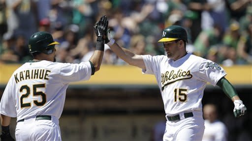 Seth Smith homers in A's 5-1 win over Indians