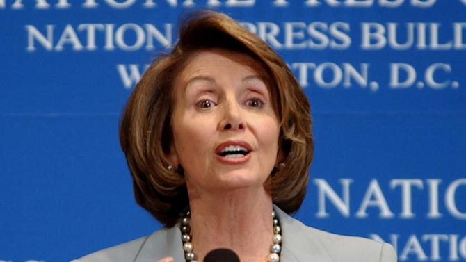 Pelosi's defense of NSA surveillance draws boos
