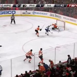Mathieu Perreault Goal on Steve Mason (08:20/1st)