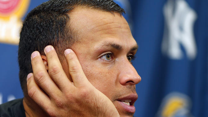 AP Source: A-Rod lone holdout in drug cases