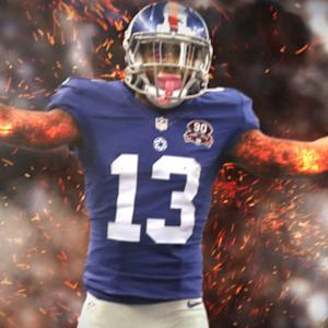 Odell Beckham the Sith Lord