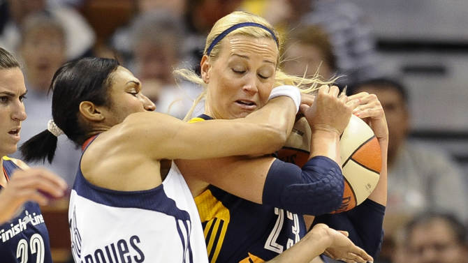 Free throws lift Sun over Fever, 82-80 in OT