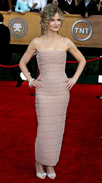 Kyra Sedgwick at the 13th Annual Screen Actors Guild Awards.