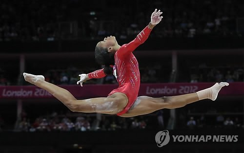 APTOPIX London Olympics Artistic Gymnastics Women
