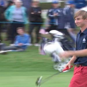 Junior Ryder Cup: Day 1 afternoon highlights