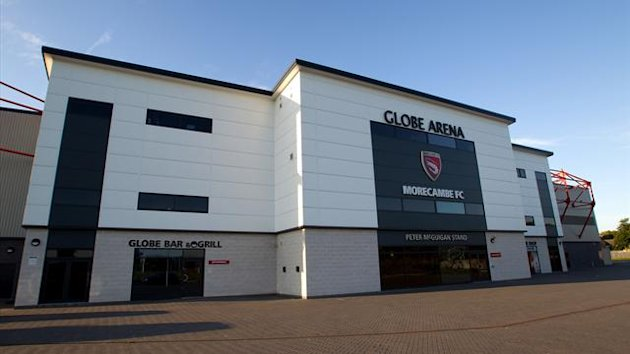 A general view of Globe Arena, home of Morecambe (PA)