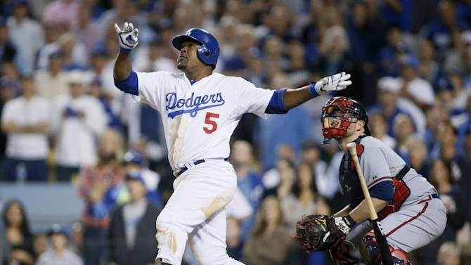 Dodgers beat Braves 4-3 to move on in playoffs
