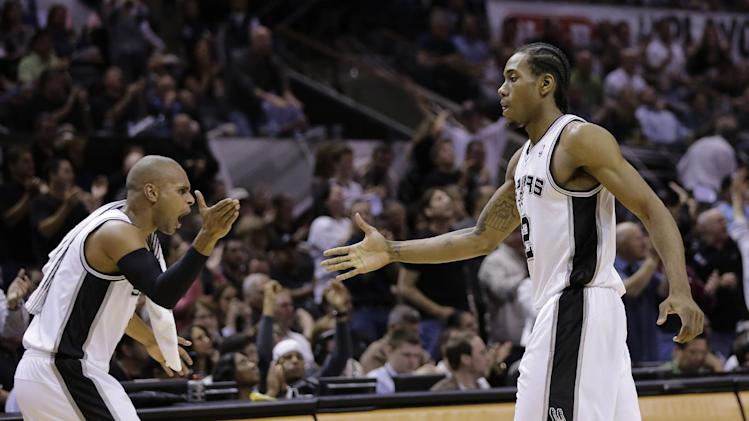 Spurs blow out Blazers to finish a dominant series, advance to …
