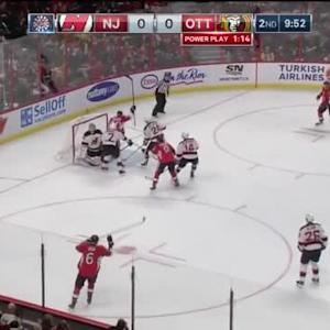 Devils at Senators / Game Highlights