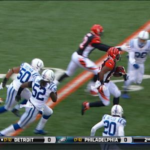 Cincinnati Bengals running back Giovani Bernard 19-yard run