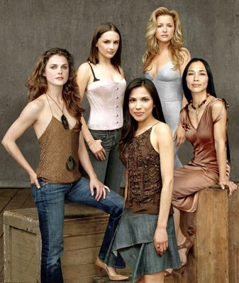 Keri Russell, Rachael Leigh Cook, Tonantzin Carmelo, Jessica Capshaw and Irene Bedard TNT's Into the West