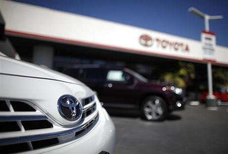 Toyota on Toyota Camry At A Dealership In Los Angeles  Calif   Photo  Reuters