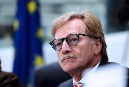 <p>EU governments are expected to confirm Luxembourg's central banker Yves Mersch, pictured here on October 22, in a key ECB post Monday, despite opposition from the European Parliament which wants female representation, a eurozone source said Wednesday.</p>