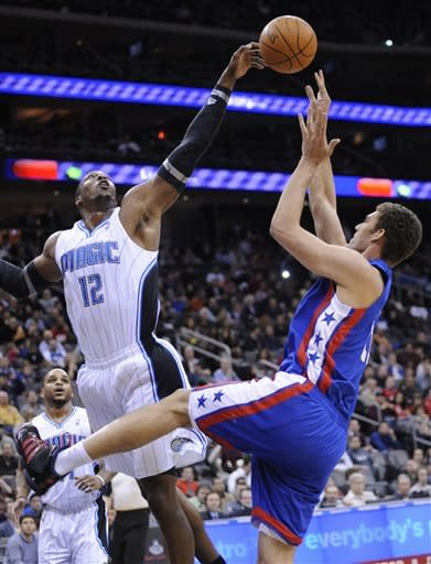 Dwight Howard dominates in audition for Nets