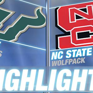 South Florida vs NC State | 2014-15 ACC Men's Basketball Highlights