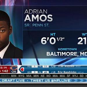 Chicago Bears pick safety Adrian Amos No. 142 in 2015 NFL Draft