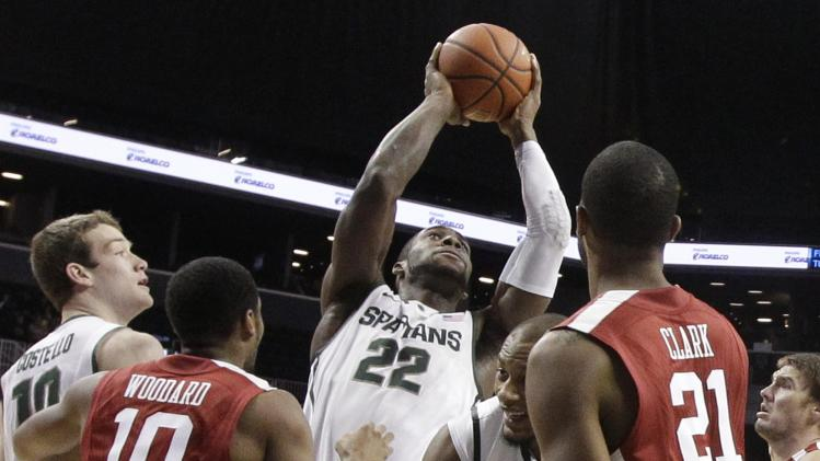 No. 1 MSU struggles to beat Oklahoma 87-76