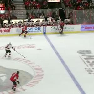 Tuomo Ruutu Hit on Erik Karlsson (15:53/2nd)