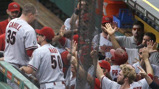 Diamondbacks power past Pirates 15-5