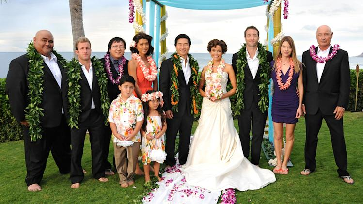 TV Weddings - Malia Waincroft and Lt. Chin Ho Kelly: ?Hawaii 5-0? (2011)