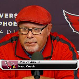 Arizona Cardinals general manager Steve Keim: 'It starts with respect'