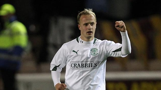 Leigh Griffiths is joint-top goalscorer in the SPL with 19 goals