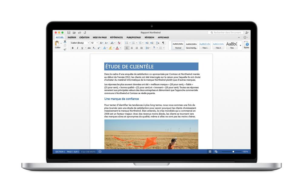 Office 2016 preview out on Mac