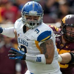 One-On-One With San Jose State DT Travis Raciti